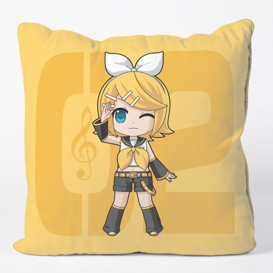 Kagamine Rin Cushion Cover