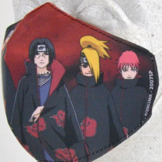 Reusable Face Mask: Akatsuki Face Mask