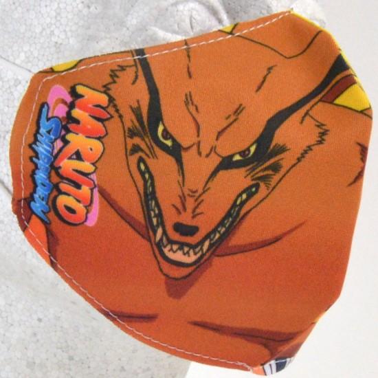 Reusable Face Mask: Naruto & Kurama