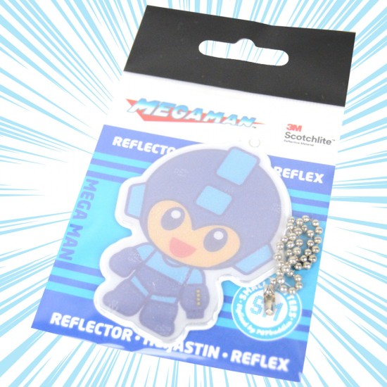 Mega Man Small Matters Chibi Safety Reflector / Key Chain