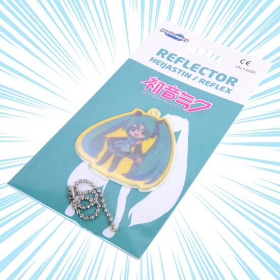 Hatsune Miku: Chibi Safety Reflector / Key Chain