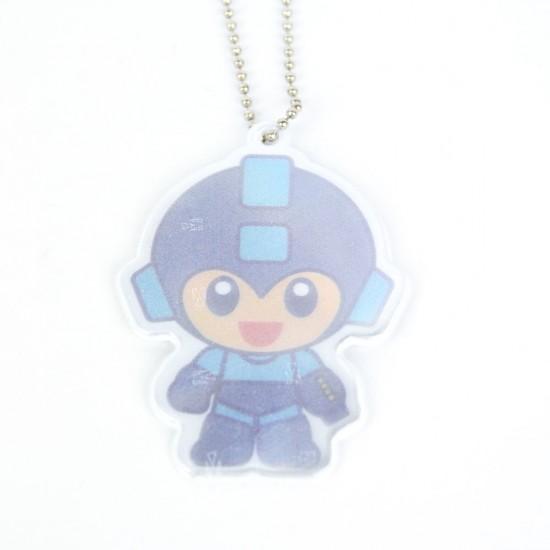 Mega Man Small Matters Chibi Safety Reflector / Key Chain