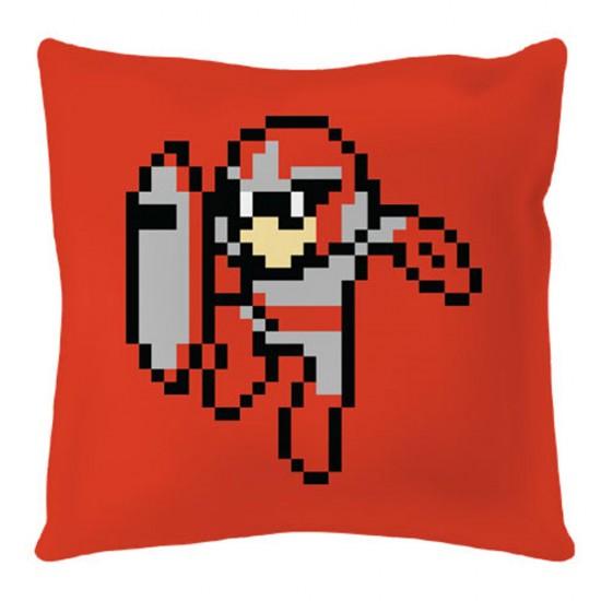 Mega Man: Protoman 8-bit Square Cushion