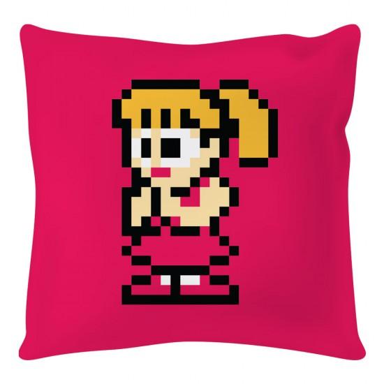 Mega Man: Roll 8-bit Square Cushion