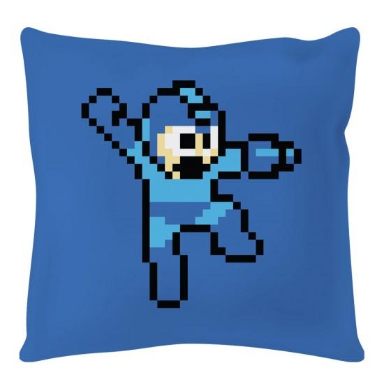 Mega Man 8-bit Square Cushion