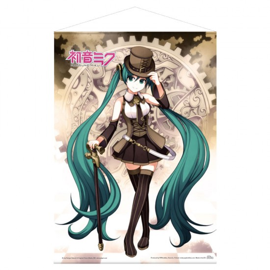 Hatsune Miku: Steampunk Miku Wall Scroll